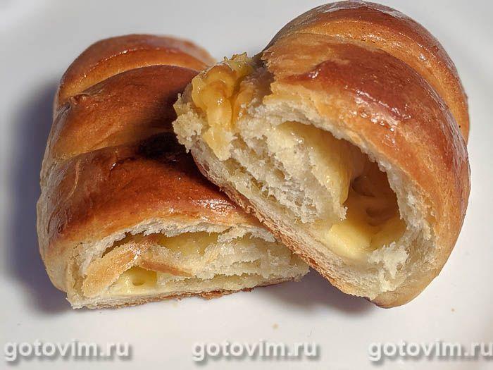 Булочки с сыром. Фотография рецепта