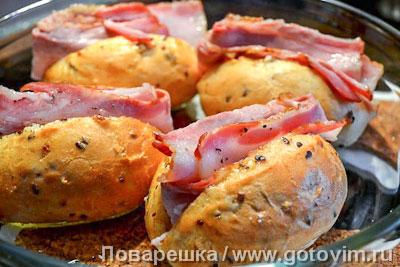 Теплые булочки для завтрака. Фото-рецепт