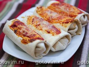 Буррито с фаршем и перцем