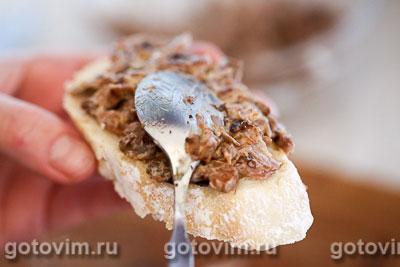 Бутерброды с грибной икрой из сыроежек, Шаг 05