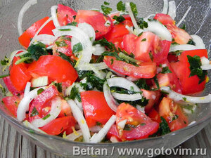 Салаты из помидоров
