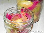 Чатни из ревеня с яблоком