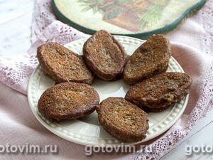 Чечевично-машевые котлеты с грибами