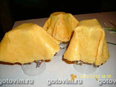 Фотографии рецепта Сырные корзиночки с салатом из моцареллы с помидорами и зеленым луком, Шаг 03