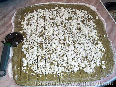 Сырный пирог «Ярило» на картофельном тесте, Шаг 05