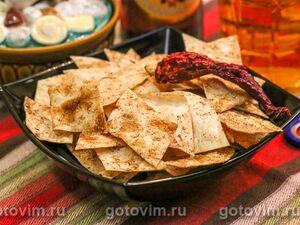 Чипсы из лаваша с кайенским перцем