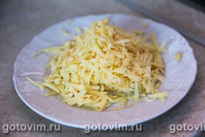 Чипсы из лаваша с кетчупом и сыром, Шаг 02