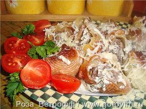 Конкильени фаршированные, под сливочно-сметанным соусом