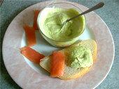 Дип из кабачков и авокадо