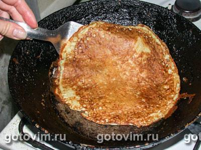 Картофельные блины с мясной начинкой, Шаг 03