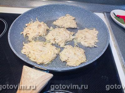 Драники с сыром моцарелла, Шаг 03