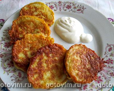 Дранцы (белорусская кухня). Фотография рецепта