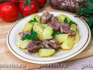 Душенина из баранины (тушеное мясо с картошкой)