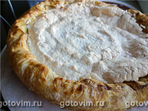 Дутый яблочный пирог