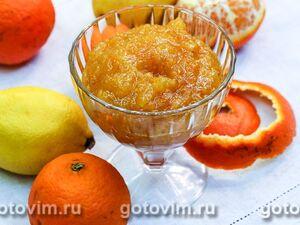Джем из апельсинов и мандаринов