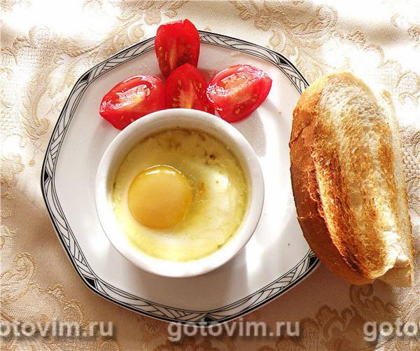 Яйца кокот. Фотография рецепта