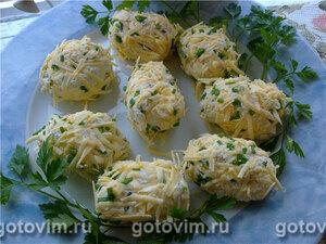 Яйца из творога по-литовски