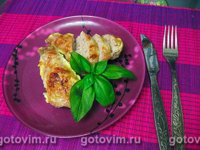 Фаршированные куриные голени. Фотография рецепта