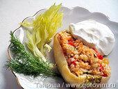 Фаршированный перец «Летний» (с рисом и сыром горгонзола)