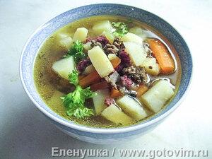 Финский суп из оленьего фарша