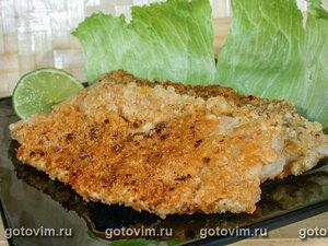 Рыба в панировке с цедрой