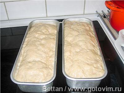 Формовой хлеб из пшеничной муки и овсяных хлопьев, Шаг 05