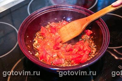 Фотографии рецепта Фрикадельки по-мароккански в тажине, Шаг 04