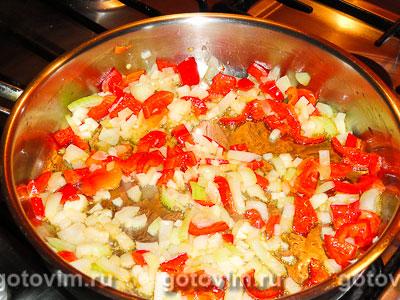 Каша из чечевицы с овощами, Шаг 02