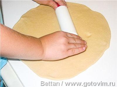 Сдобные рогалики со сливой - рецепт пошаговый с фото
