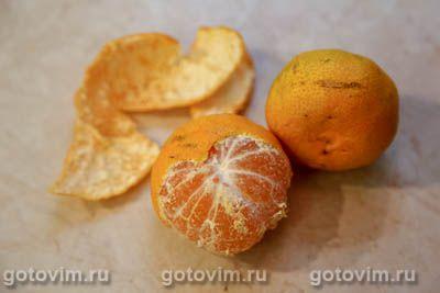 Глинтвейн из сидра с мандаринами