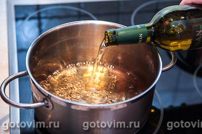 Глинтвейн из белого вина с грушей, Шаг 01