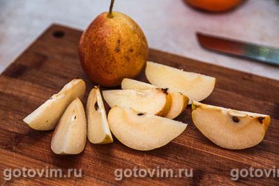Глинтвейн из белого вина с грушей, Шаг 03