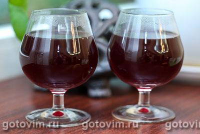 Глинтвейн из красного вина с коньяком. Фотография рецепта