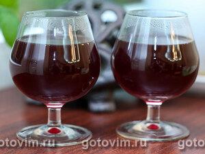 Глинтвейн из красного вина с коньяком