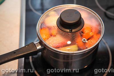 Глинтвейн с яблоками и апельсинами, Шаг 07