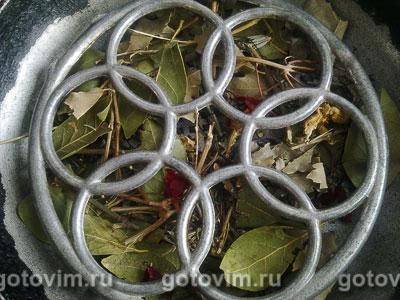 Копченая барабулька (на сковороде), Шаг 03
