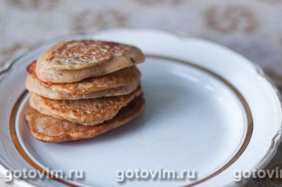 Фотография рецепта Гороховые оладьи