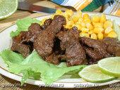 Говядина по-мексикански (Фажита)
