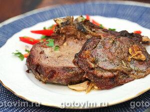 Томленая говядина в горшочке