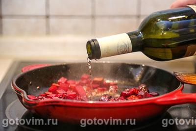 Тушеная говядина со свеклой и черносливом, Шаг 05