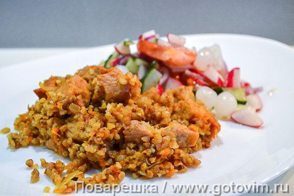 соус для гречки с мясом рецепт с фото