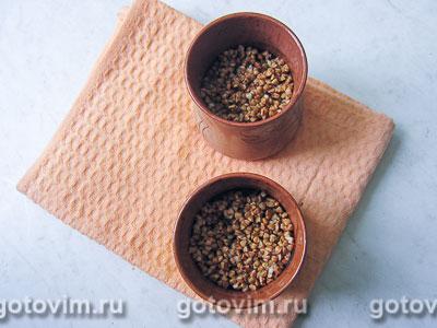 Гречневая каша с печенью в горшочках, Шаг 06