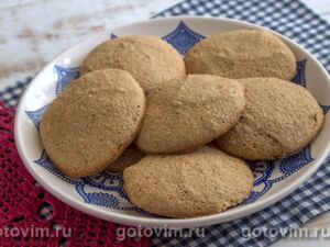 Гречневое печенье с медом