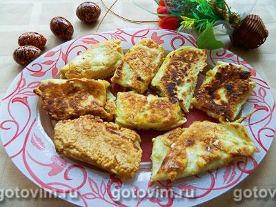 Фотография рецепта Конвертики из лаваша