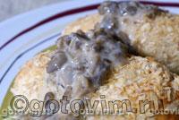 Грибной соус. Фотография рецепта