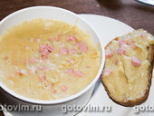Плавленый сыр с колбасой