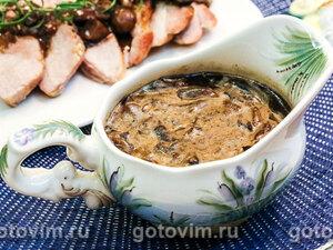 Грибной соус с мадерой