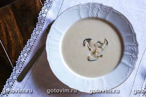 рецепт супа пюре с грибами рецепт с фото