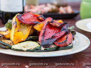 Овощи на решетке