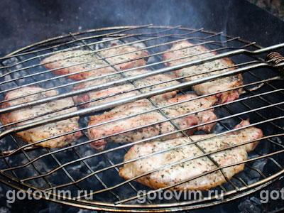 Мясо на решетке, Шаг 03